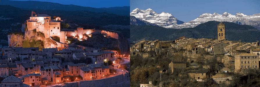 Lugares de cuento en la Ruta Mariana: Alquézar y Aínsa
