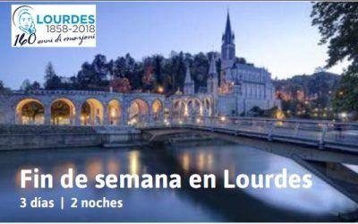 Fin de Semana en Lourdes con el 'Ave María'