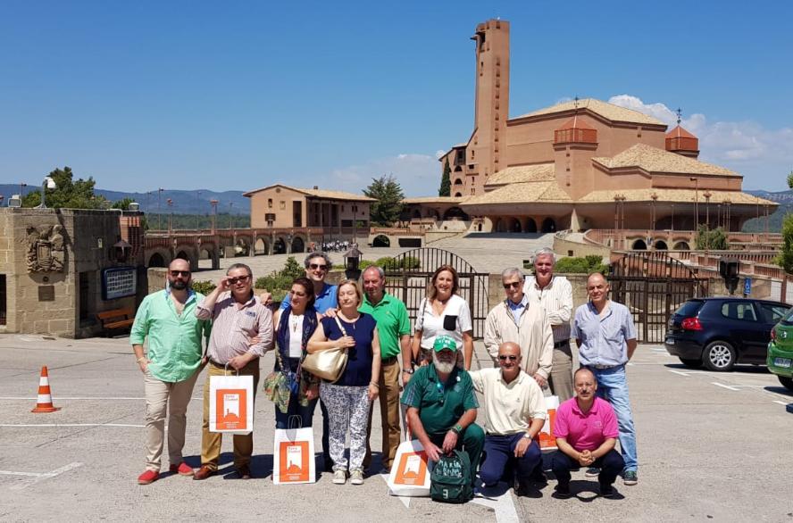 Organizadores de peregrinaciones de Andalucía descubren la Ruta Mariana a través de un fam trip por Aragón y Andorra