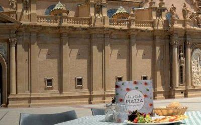 Gastronomía en Zaragoza: 'Restaurante Piazza', la terraza del Pilar